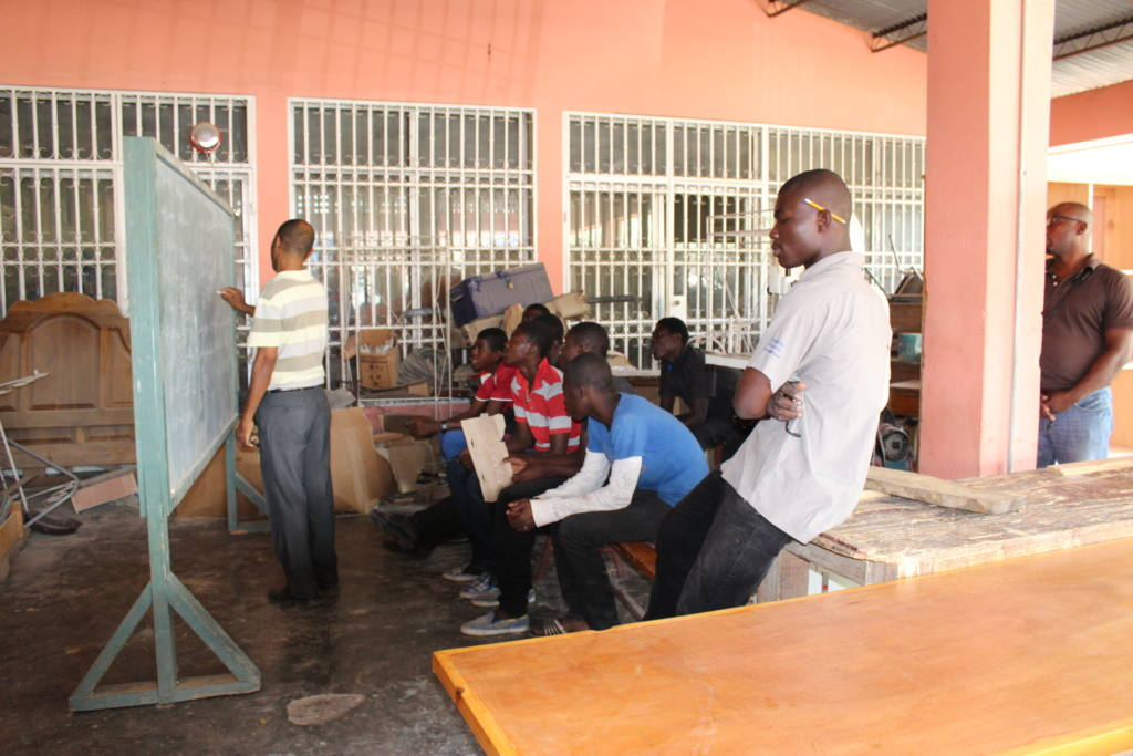 Formación profesional en Haití