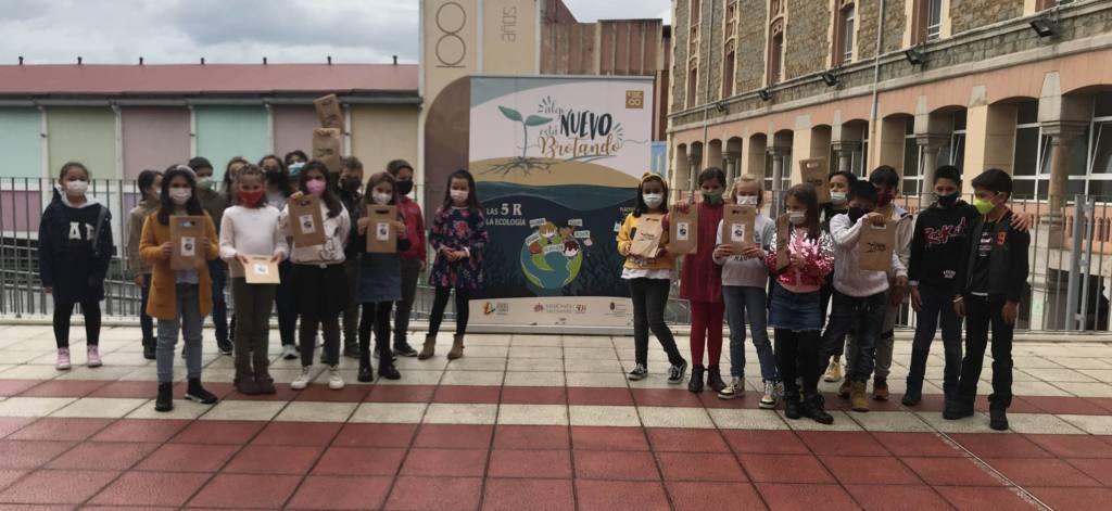 Talleres sobre cambio climático y consumo responsable en Salesianos Santander