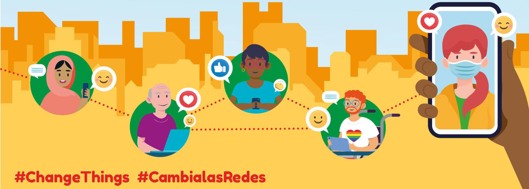 Proyecto 'Jóvenes Intercontectad@s para transformar las redes sociales  hacia una ciudadanía global'